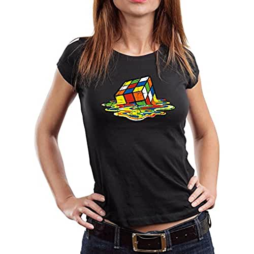dia del orgullo friki 1508-Camiseta Mujer Magic Cube