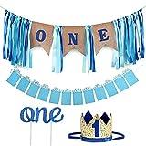 Die besten 1. Geburtstags-Geschenke - Amycute 1. Geburtstag Dekorationen für Jungen, Baby First Bewertungen