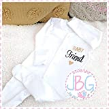 Personalised Baby sleepsuit, unisex Onsie, Embroidered Design, New arrival Clothes, Bodysuit