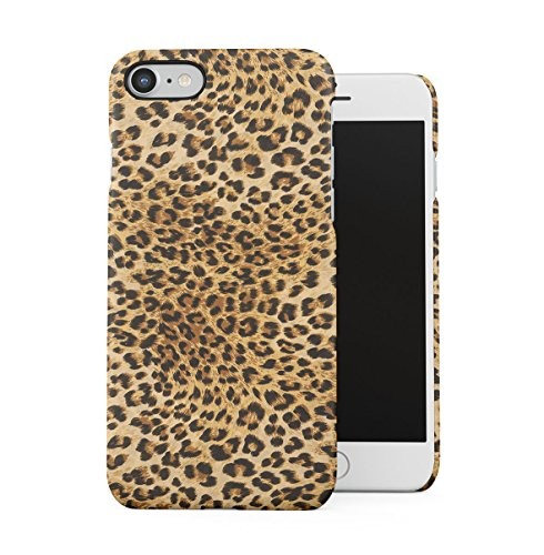Zebra Fur Pattern Apple iPhone 7 PLUS Snap-On Hard Plastic Protective Shell Case Cover Custodia Sassy Leopard Fur