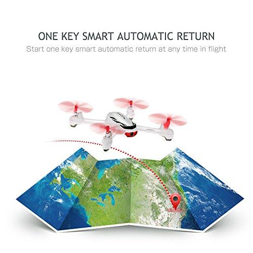 Goolsky Hubsan X4 Wunsch H502E 720P Kamera GPS RTF RC Quadrocopter Drohne mit Höhenmodus zurück zur Home Funktion - 9