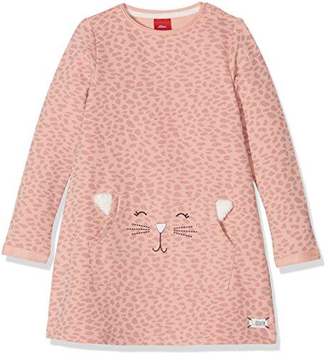 s.Oliver Baby-Mädchen Kleid 65.808.82.2847, (Dusty Pink AOP 42a8), ()