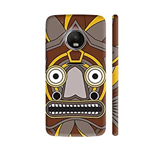 Colorpur Zulu Warrior Printed Back Case Cover for Moto G5 Plus
