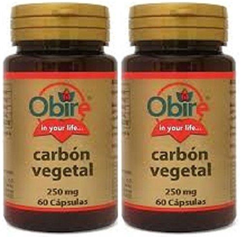 Carbon Vegetal 250 60 Cap (Pack 2 u.)