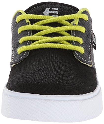 Etnies Kids Jameson 2 Eco, Chaussures de sport garçon Noir/gris/blanc