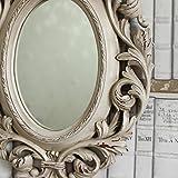 Espejo-de-pared-cabeza-de-ciervo-de-marfil-barroco