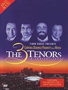 The Three Tenors in Concert 1994 (+ Audio-CD) [2 DVDs]