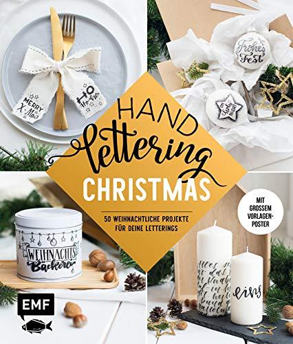 Handlettering _ Christmas: 50 weihnachtliche Projekte für deine Letterings: mit großem Vorlagenposter