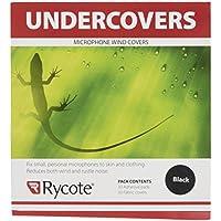 Rycote 065101Filzscheiben und Aufkleber für Lavalier-Mikrofon–Schwarz (30-Stück-Packung)