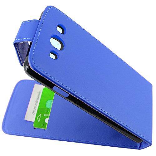 ebestStar - kompatibel Samsung Galaxy S3 Hülle i9300 i9305 Etui mit Klappe, PU Kunstleder Handyhülle Schutzhülle Case Cover, Blau [Phone: 136.6 x 70.8 x 8.6mm, 4.8''] -