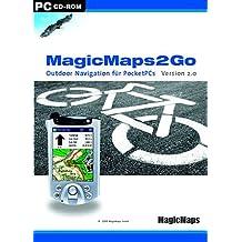MagicMaps2Go Version 2.0. Outdoor-Navigation für Pocket-PCs.  CD-ROM
