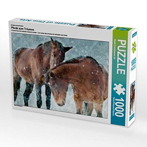 lender Pferde zum Träumen 1000 Teile Puzzle quer (CALVENDO Tiere) ()