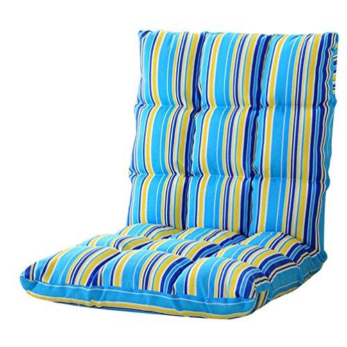 YouPue Bodenstuhl Bequem Falten Rückenlehne Leute Faul Couch Tatami RückenlehneSofa Stuhl Schlafzimmer Kleines Sofa Streifen Drucken