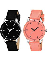 Drealex Combo Set of 2 Analogue Multi-Colour Dial Girls and Womens Watch-DR152-01