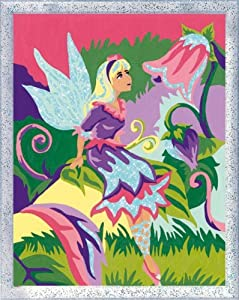 Ravensburger Spiel 28604 - Juego de Pintar guiado por números, diseño de Elfo y Flores Importado de Alemania