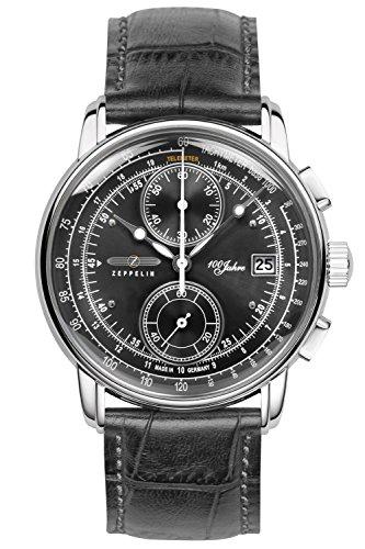 Zeppelin Men's Watch Chronograph 100 Jahre Zeppelin Ed. 1 8670-2
