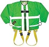Guardian Absturzsicherung Viz grün Tux Geschirr mit Zip auf/aus langen Ärmeln, 13240