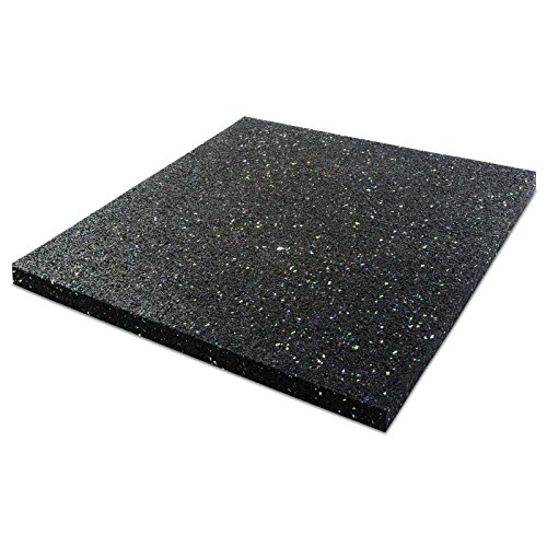 etm Anti-vibration Washing Machine Mat - 60x60x2cm | Multiple Sizes Available
