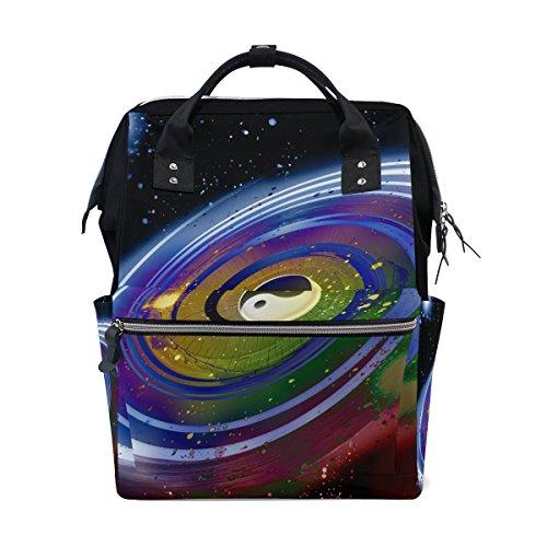 c6e7efe9ff5c COOSUN Universo di Feng Shui Yin Yang fasciatoio Diaper Bag Zaino con  isolati Tasche Stroller cinghie