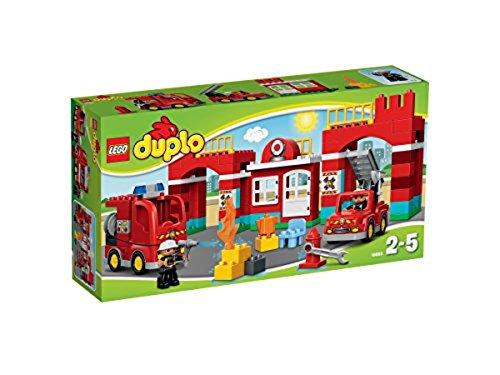 feuerwehrauto lego duplo LEGO Duplo 10593 - Feuerwehr-Hauptquartier