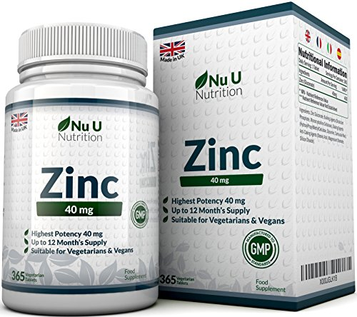 ZINC 40 mg - 365 gélules