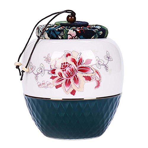 Alien-tee (Alien Storehouse Keramik Tee Vorratsbehälter Küche Speicher Kanister Jar für Candy Kaffee - 11 x 14 cm/4,3 x 5,5 Zoll - 33)