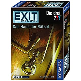 KOSMOS Spiele 694043 - EXIT - Das Spiel - Das Haus der Rätsel