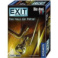 Kosmos 694043 - EXIT - Das Spiel - Das Haus der Rätsel - Die Drei??? Level: Einsteiger, Escape Room Spiel