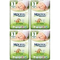 Moltex nouveau-né Couches Taille 1(112couches)