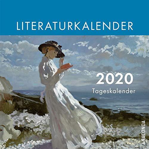 Der Anaconda Literatur-Kalender 2020 - Tageskalender