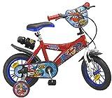 Superwings Kinderfahrrad Jett 12 Zoll Kinder Fahrrad für Jungen mit Flaschenhalter, Flasche, Klingel, Stützrädern