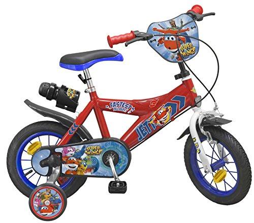 Toimsa–bicicletta per bambino sotto licenza super wings 12pollice di 3a 5anni, 1242u