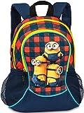 Minions 20455-0206 Kinderrucksack, 35 cm, Rot/Blau