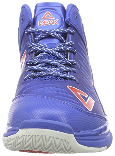 Peak Sport Europe Peak Basketballschuh Tony Parker Tp9 Ii, Scarpe da Basket Uomo Blu (Royal)