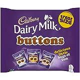 Cadbury Dairy Milk Buttons Treatsize Bags, 170g