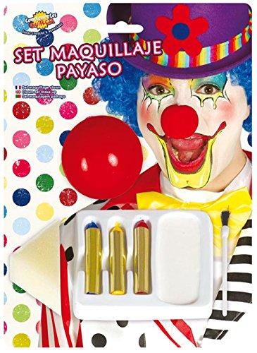 Guirca Fiestas GUI15590 - Blister Pack: Clown Make-Up
