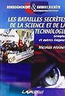 Les batailles secrètes de la science et de la technologie : Gemplus et autres énigmes par Moinet