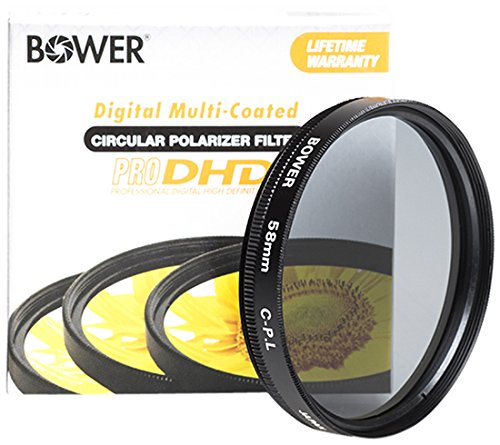 Bower Pro DHD Polarisationsfilter - Bower 58mm
