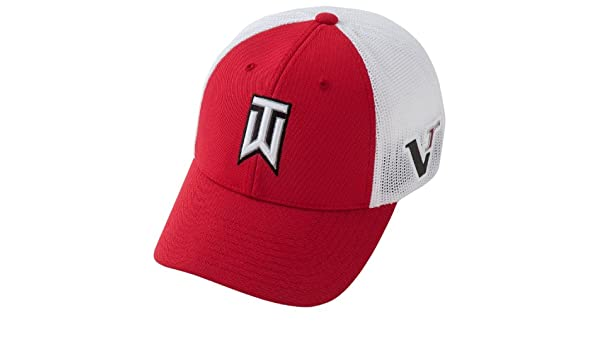 e9a2269697910 Nike TW Tour Tiger Woods Flex Fit Mens Golf Cap Hyper Red  Amazon.fr   Sports et Loisirs