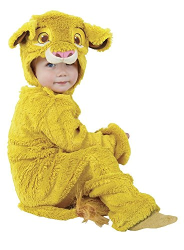 Disney König der Löwen Kinder Kostüm Simba Overall Größe 2-3 Jahre (König Der Löwen Kostüme)