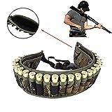 SHI-Y-M-ZDD, Táctica Shell Bandolera Cinturón 12/20 Gauge Titular de la munición 28 Rondas la Bala del Arma Bolsa Cartucho de Correa de la Correa de la Cintura Bolsa for la Caza