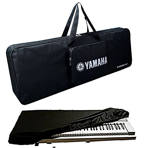 Mexa Recommended For Yamaha Keyboard Bag Padded Sponge Suitable For PSR-I455 With Dust Cover (TBK)