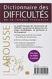 Image de Dictionnaire des difficultés de la langue française