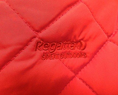 Regatta Missy Jacke Gesteppte Damen Wasserabweisend Damen Reißverschluss Neu Lippenstift Rot