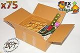 75 x PREMIUM-Karton 62 cm lang, 40 cm breit, 23,5 cm hoch Umzugskarton, ca. 60 x 40 cm stapelbar, HANDLICH & STABIL, Lagerkarton doppelwellig, EXTREM ROBUSTER VERSANDKARTON, 620 x 400 x 235 mm / 62 x 40 x 23,5 cm hochwertige > 50 KG (!) 60 x 40 cm Industriekartons BC-Doppelwelle mit Kraftdeckung, 1x mit hochwertigem Klebeband zusammengebaut - jahrelang wiederverwendbar, Bücherkarton, Archivkarton, Aufbewahrungskartons für Wintersachen Spielzeug Weihnachten
