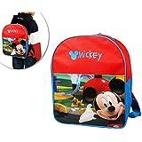 Mochila infantil escolar con motivo de Mickey Mouse 32 x 26 x 12 cm – Disney B13021 mws2068
