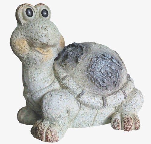 Figure de jardin Tortue avec d'optique de pierre