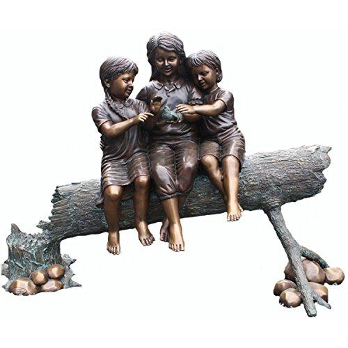 Jardin en forme de tronc d'arbre pour fille