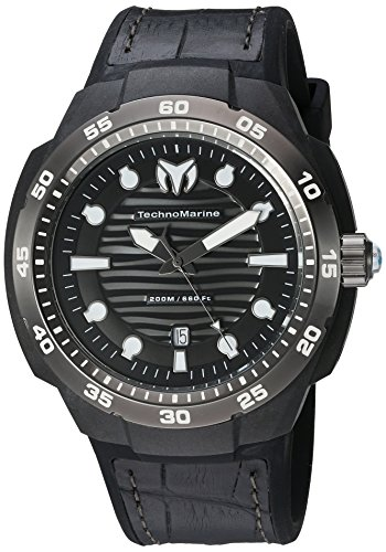 technomarine-mens-quartz-watch-with-black-dial-analogue-display-and-black-silicone-strap-tm-515009