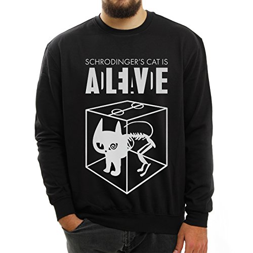 Sheldon Schroedingers Cat Is Alive Edition XXL Unisex Sweater